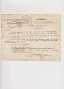 Convocation militaire adressée à Mr. Etienne Cailleau datée du 07 février 1945